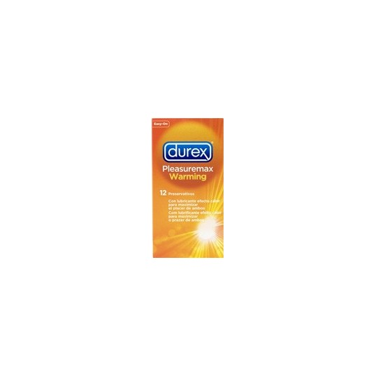 Durex Pleasuremax Calor 12 uds.