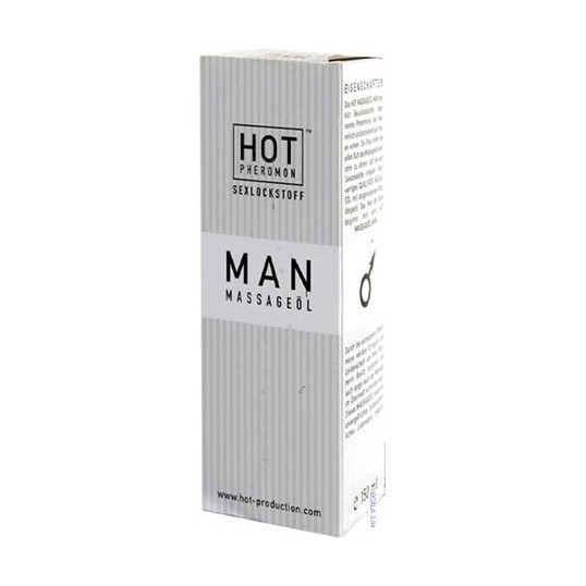Hot Man Aceite de Masaje con feromonas