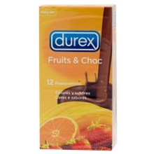 Durex Fruits & Choc 12 uds