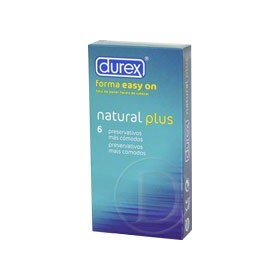 Durex Natural Plus 6 uds.