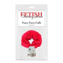 FF Fancy Furry Cuffs Red