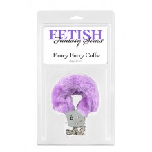 FF Fancy Furry Cuffs Purple