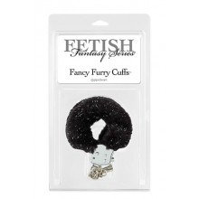 FF Fancy Furry Cuffs Black