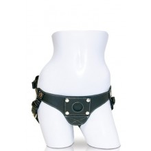 Leather Couture Strap-On All Leather