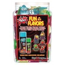 Fun Flavors Heating 4 en 1 10 ml - Caja Display Surtido De 144 uds