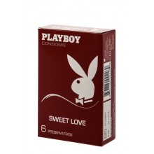 Playboy Condoms Sweet Love 6 Uds