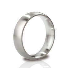 The Earl - Round Cock Ring 55 mm Brushed Finish