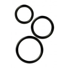 Silicone Support Rings - Black