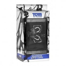 TOM OF FINLAND NEOPRENE ESPOSAS CON CANDADO